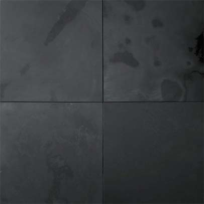 Oiba Black Honed Slate Tiles