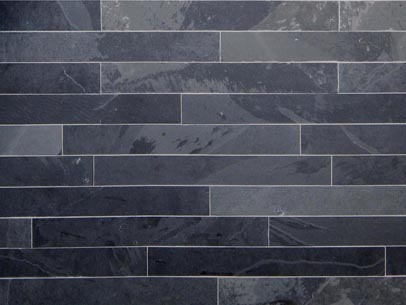 Floortique Black Slate Tiles