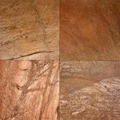 Floortique Copper Quartzite Slate Tiles