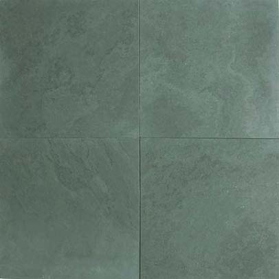 OIBA Green Honed Slate Tiles Brazilian Verde Slate